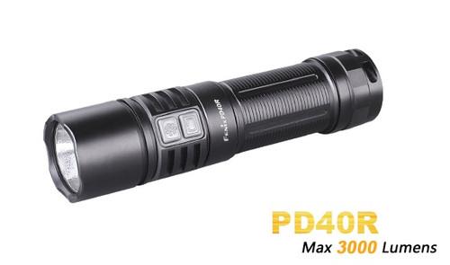 Fenix PD40R USB Rechargeable Flashlight - 3000 Lumens