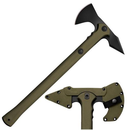 Cold Steel 90PTHG Trench Hawk OD Green w/Secure-Ex Sheath