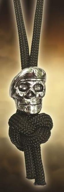 Spartan Blades Lanyard Beret Skull - OD
