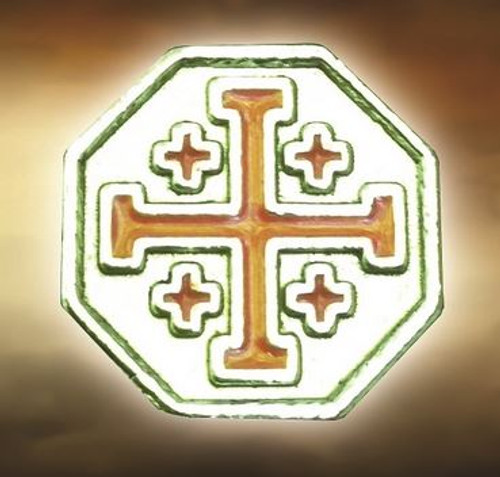 Spartan Blades Bead Crusader Cross