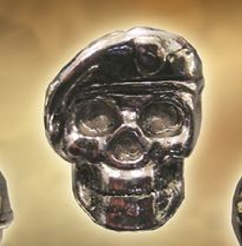 Spartan Blades Bead Beret Skull