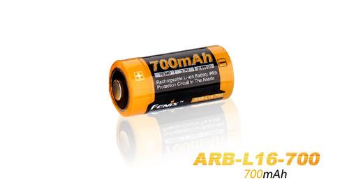 Fenix ARB-L16 Rechargeable 16340 Battery - 700mAh