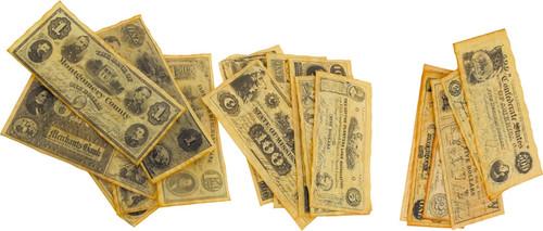 Civil War Currency Sets