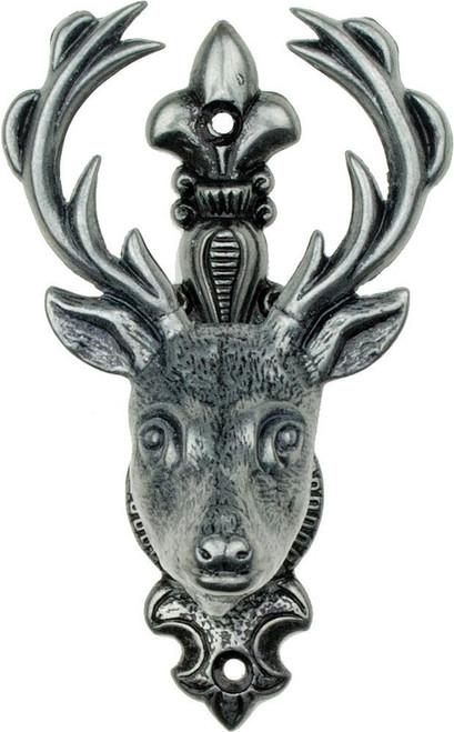 Deer Head Hanger Gray