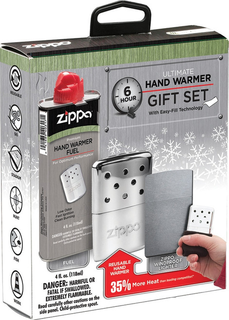 Zippo Hand Warmer Ultimate Gift Set