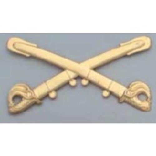 Cavalry Insignia - Civil War Kepi - Brass