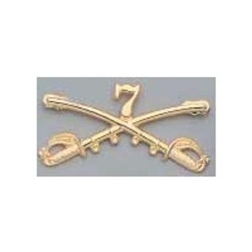 Cavalry Insignia - General Custer's 7th