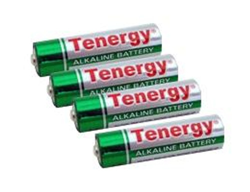 Tenergy AAA Size High Quality Alkaline Batteries (Set of 4)