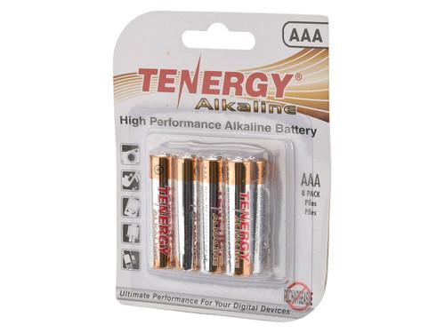 Tenergy High Performance Alkaline AAA Batteries (Package: 8 Batteries)