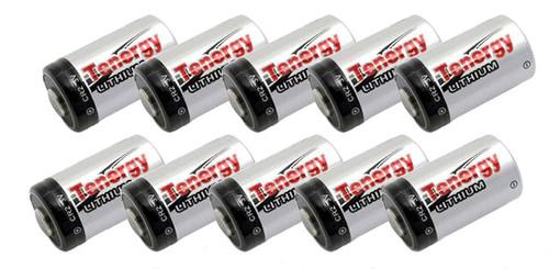 Tenergy High Performance Lithium CR2 Batteries set of 10