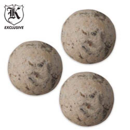 Civil War Musket Ball Replica 3-Pack