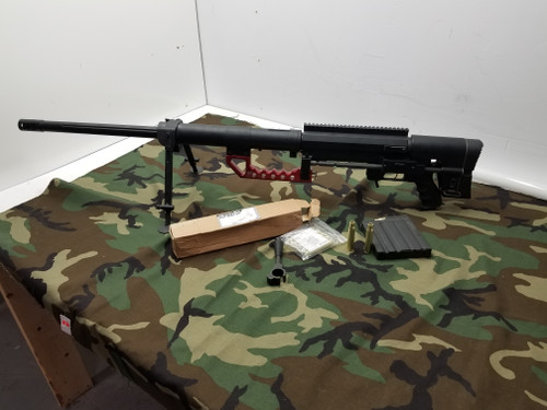 CheyTac Licensed M200 Intervention Bolt Action Sniper Rifle Includes Co2/Green Gas Bolts, Mag, Bullets