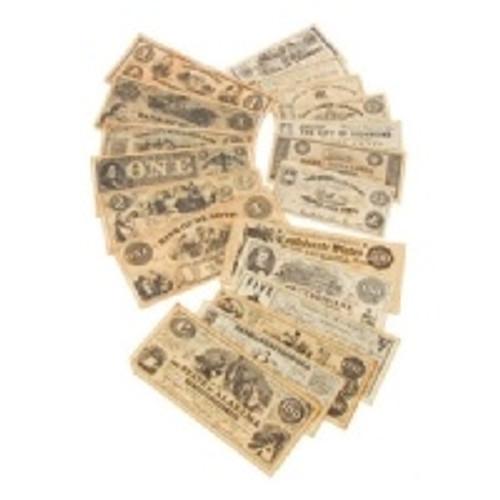 Set Of Civil War Currency