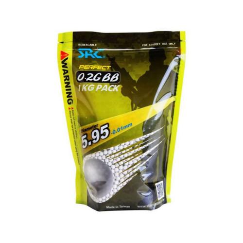 SRC Perfect Airsoft BB 0.20g 1KG Alum Foil