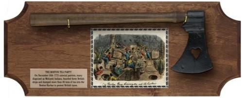 Set - Boston Tea Party Deluxe Frame - Dark Wood