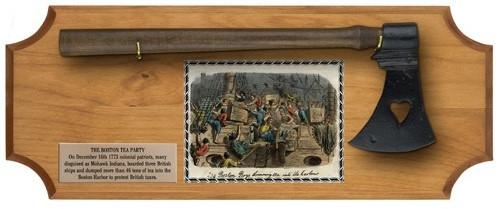 Set - Boston Tea Party Deluxe Frame - Light Wood
