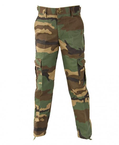 Propper Kid's BDU Trouser - Woodland Camo