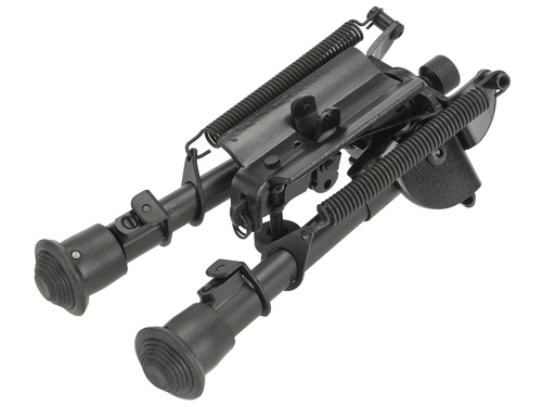 "CYMA M030 4"" Retractable Harris Type Bipod w/ Swivel Lock"