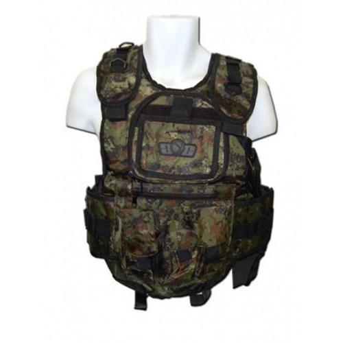 Gen-X Tactical Vest - Digi Green