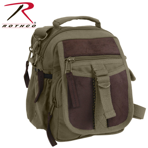 377171f70c Rothco Canvas Long Weekend Bag - Olive Drab - Hero Outdoors