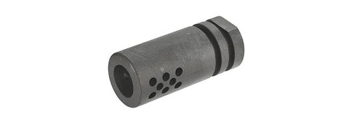 "UFC 2"" Steel Flash Hider / Compensator - 14mm Positive"
