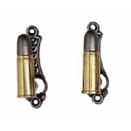 Pistol Hanger - Bullets - Gold/Silver
