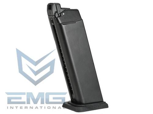 EMG SAI-17 Type CO2 GBB Airsoft Training Magazine for SAI / WE G-Series (Model: 17/25+1 Round Type)