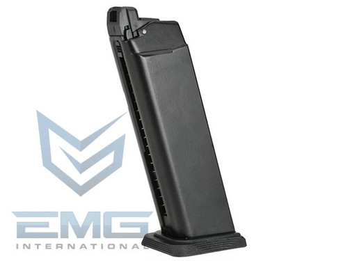 EMG SAI-17 Type CO2 GBB Airsoft Training Magazine for SAI / WE G-Series (Model: 15/23+1 Round Type)