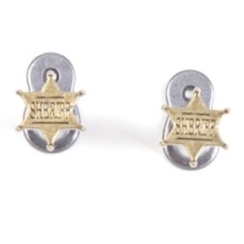 Pistol Hanger - Old West Sheriff Badges
