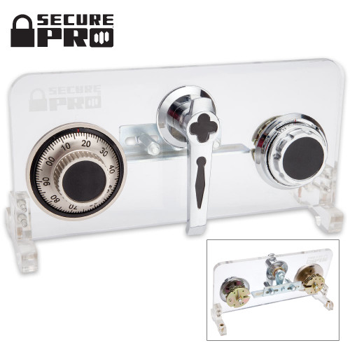 Secure Pro Double Wheel Safecracking/Lockpicking Practice Lock