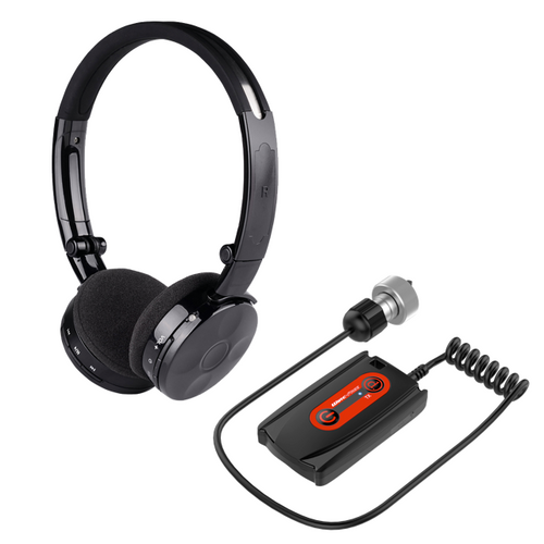 Deteknix Wireless ATPRO/Gold Transmitter - Lite Headphones
