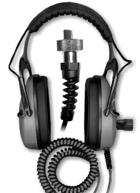 DetectorPro Gray Ghost Amphibian Headphone For GARRETT Infinium Sea Hunter Or Atgold
