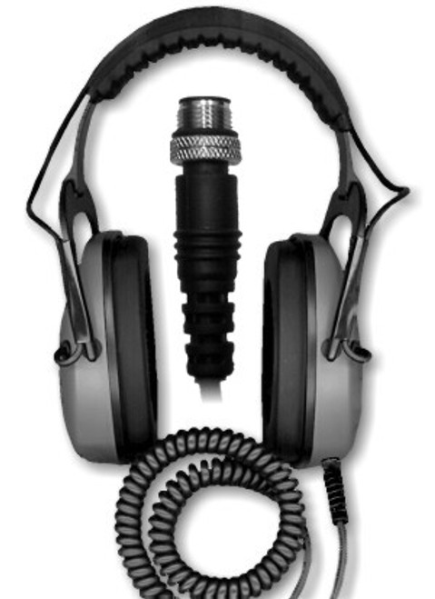 DetectorPro Gray Ghost Underwater Headphones - Minelab CTX 3030