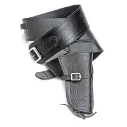 Holster - Single Tooled - Black