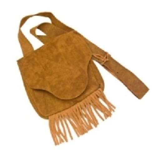 Suede 'Possibles' Frontier Bag