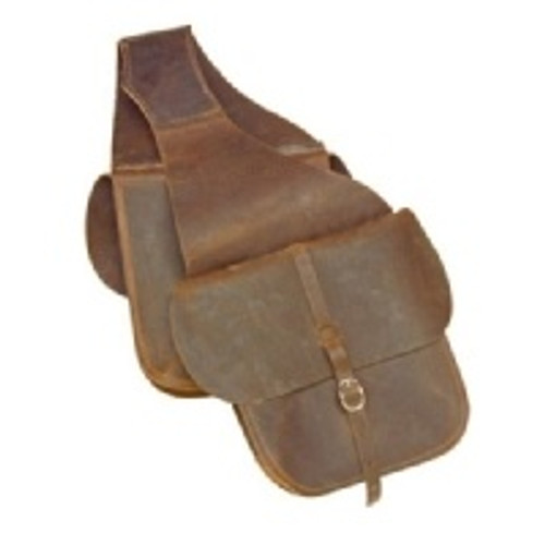 Western Leather Saddle Bag