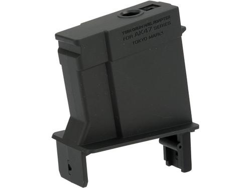 Tokyo Marui Conversion Adapter for Twin Drum Magazine (Gun: Standard AK)