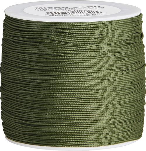 Micro Cord 100lb, 1000 Ft. Spool - Olive