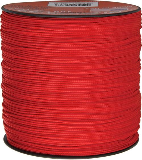 Micro Cord 100lb, 1000 Ft. Spool - Red
