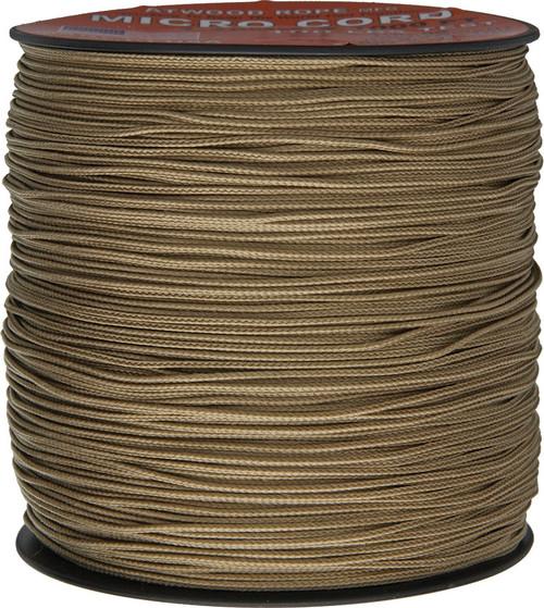 Micro Cord 100lb, 1000 Ft. Spool - Tan
