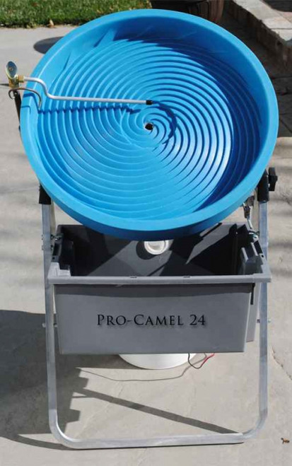 Camel Pro 24 Spiral Gold Panning Machine