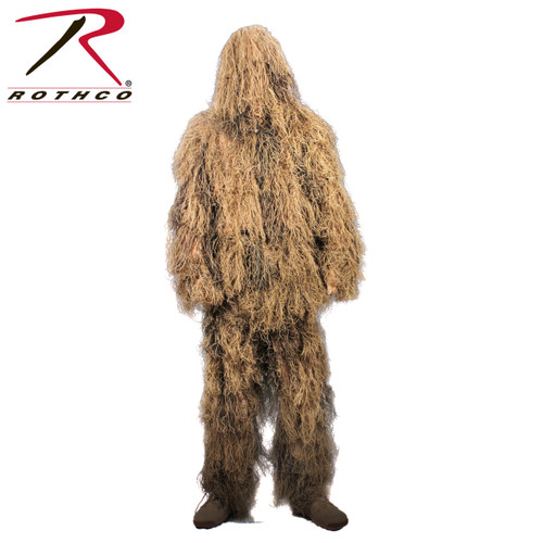 Rothco Lightweight All Purpose Ghillie Suit - Desert Tan