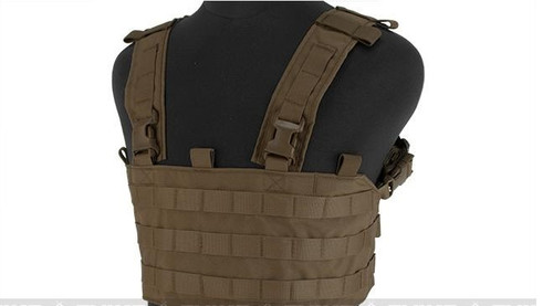 Mayflower Research and Consulting UW Chest Rig QD - Coyote Brown