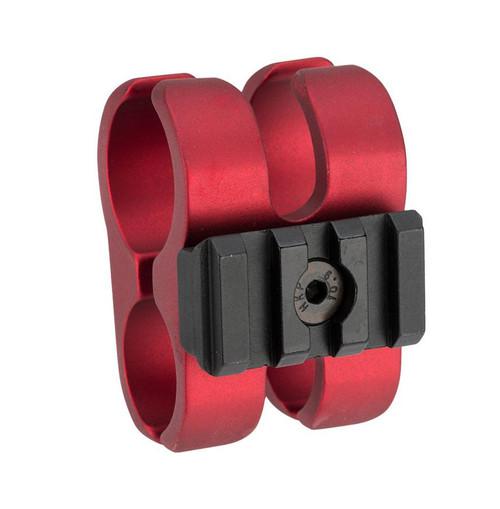 APS Airsoft Shotgun Barrel Clamp for CAM870 Series Airsoft Shotguns (Color: Red)