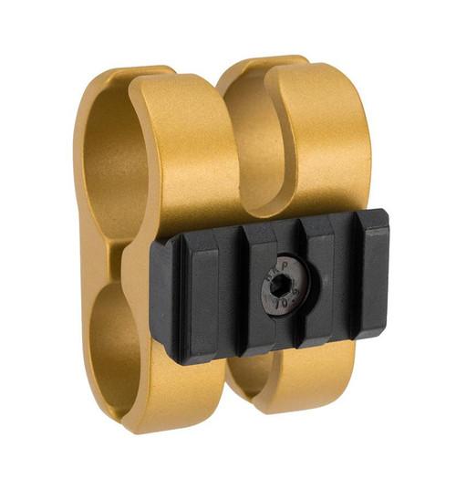 APS Airsoft Shotgun Barrel Clamp for CAM870 Series Airsoft Shotguns (Color: Gold)
