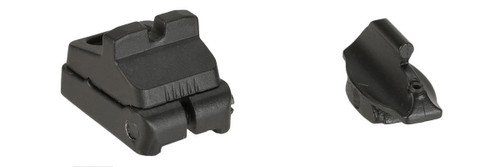APS Front and Rear Sight Set for APS CAM870 Airsoft Shotguns