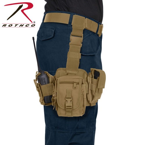 Rothco Drop Leg Utility Rig - Coyote Brown