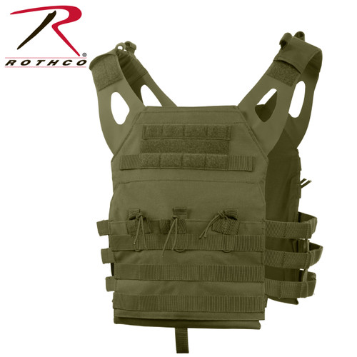 Rothco Lightweight Plate Carrier Vest - Olive Drab