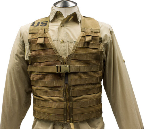 U.S. Armed Forces  Load Bearing Vest -  Coyote