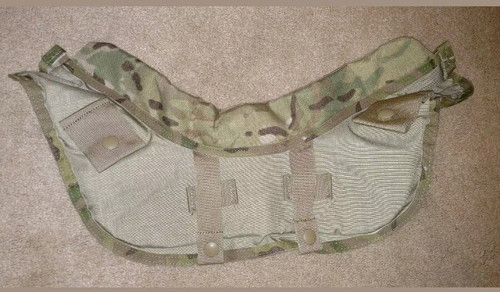 U.S. Armed Forces Yoke/Collar Front Assembly - Multicam